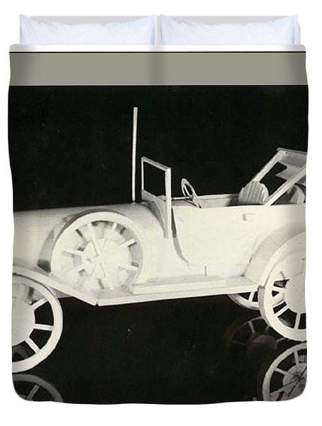 Antique Car Duvet Cover