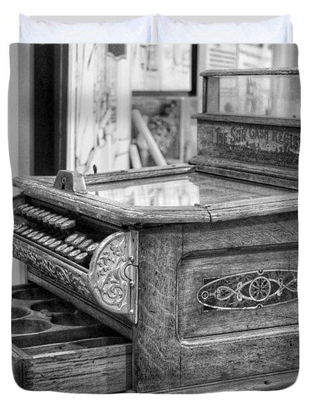 Antique Cash Register Duvet Cover