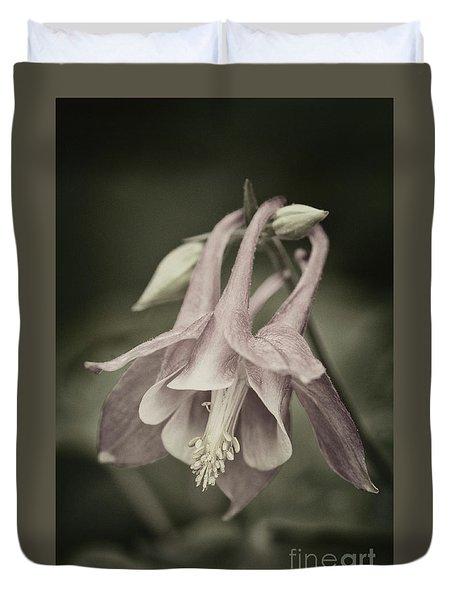 Duvet Cover featuring the photograph Antique Columbine - D010096 by Daniel Dempster