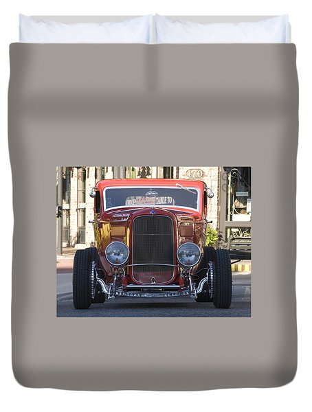 Antique Coup Front End Duvet Cover