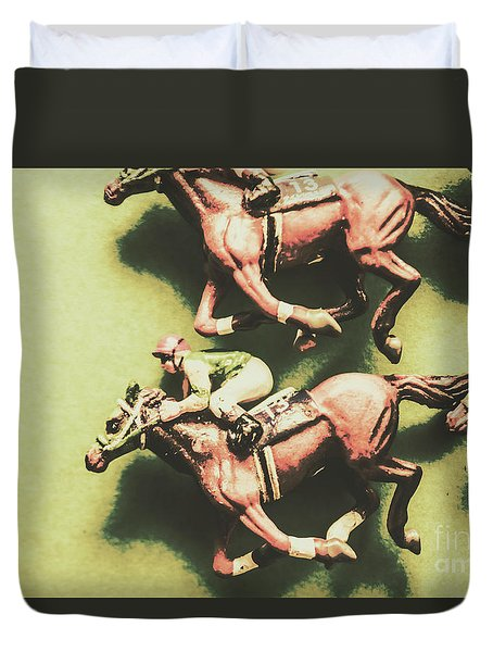 Antique Race Duvet Cover