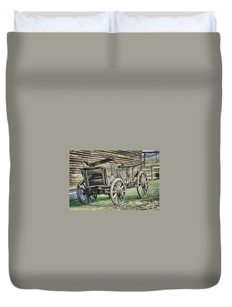 Antique Wagon Duvet Cover