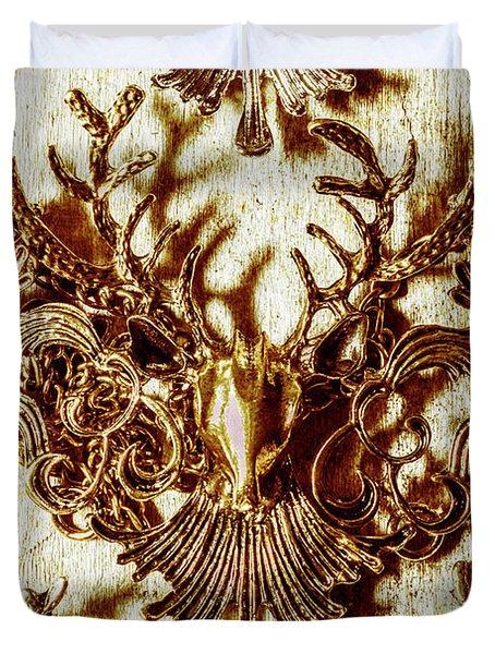 Antler Antiquities Duvet Cover