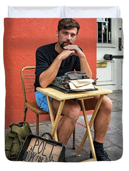 Antoine Duvet Cover by Steve Harrington