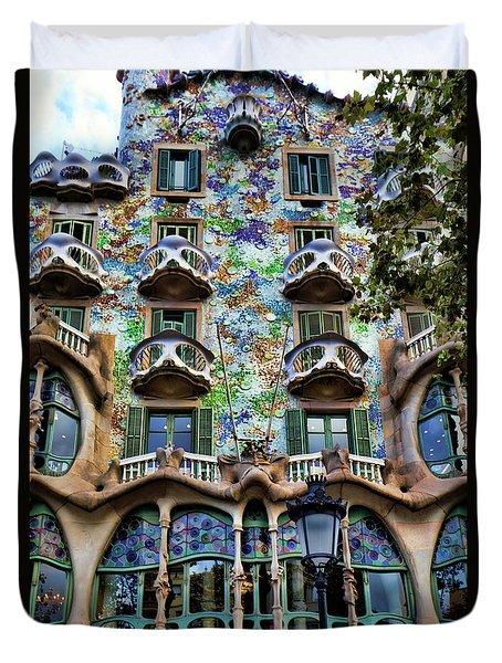 Antoni Gaudi's Casa Batllo Barcelona Spain  Duvet Cover