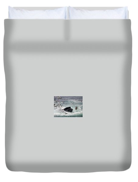 Any Leftovers Duvet Cover