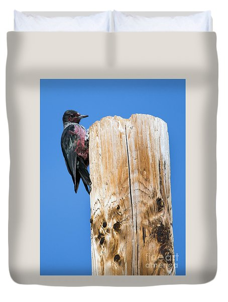 Any Tree Will Do Duvet Cover by Mike Dawson