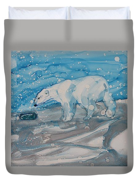 Anybody Home? Duvet Cover