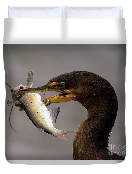 Anyone For Catfish? Duvet Cover
