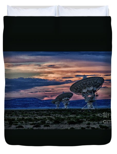 Anyone Out There Duvet Cover
