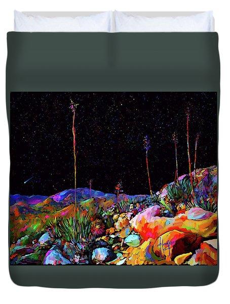 Anza Borrego Desert Rocks Duvet Cover