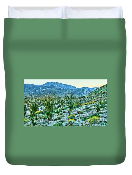 Anza Borrego Twillight Duvet Cover