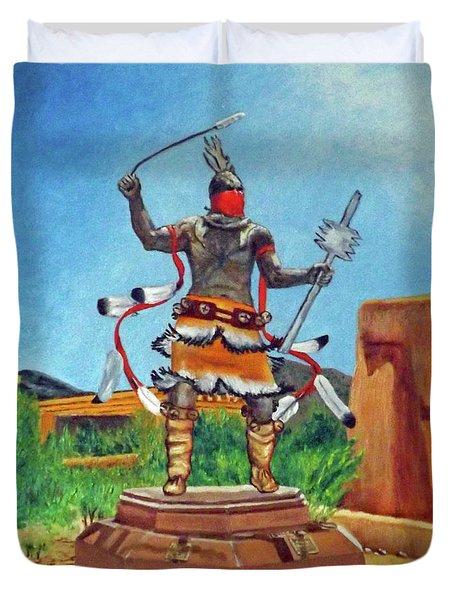 Apache Mountain Spirit Dancer Duvet Cover