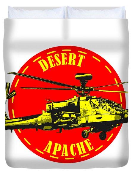 Apache On Desert Duvet Cover