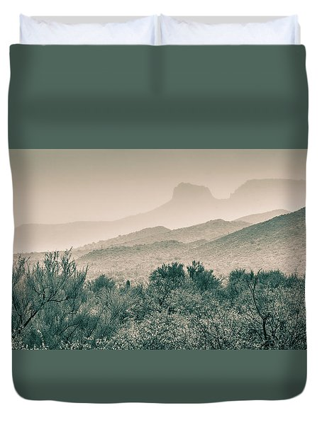 Apache Trail Duvet Cover