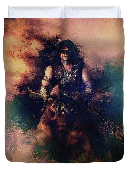 Apache Warrior Duvet Cover