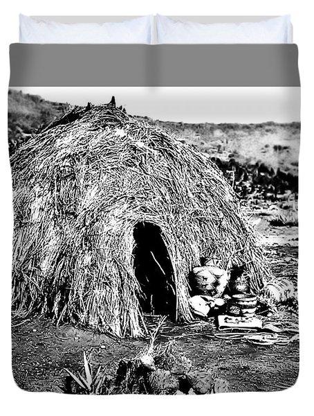 Apache Wikiup Duvet Cover