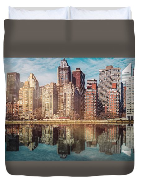 Apartment Blocks  Duvet Cover