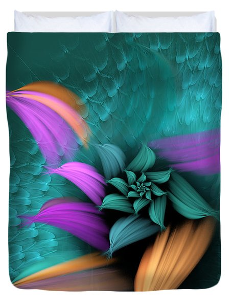 Apo Flower Duvet Cover
