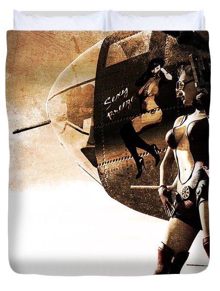Apocalypse War 1 Duvet Cover