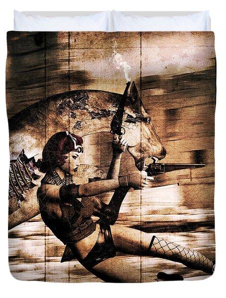 Apocalypse War 3 Duvet Cover