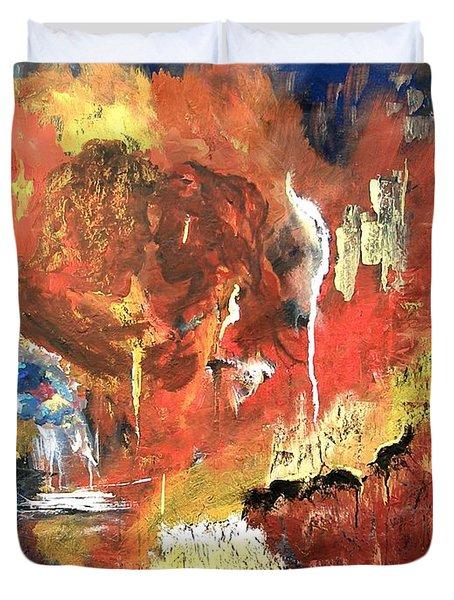 Apocalyptic Love Duvet Cover
