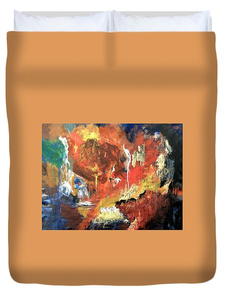 Apocalyptic Love Duvet Cover