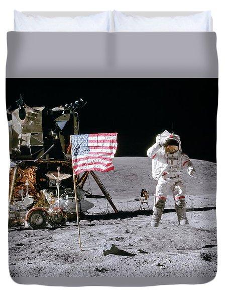 Apollo 16 Duvet Cover