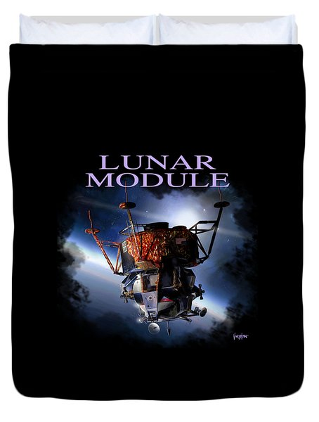 Apollo 9 Lm Duvet Cover