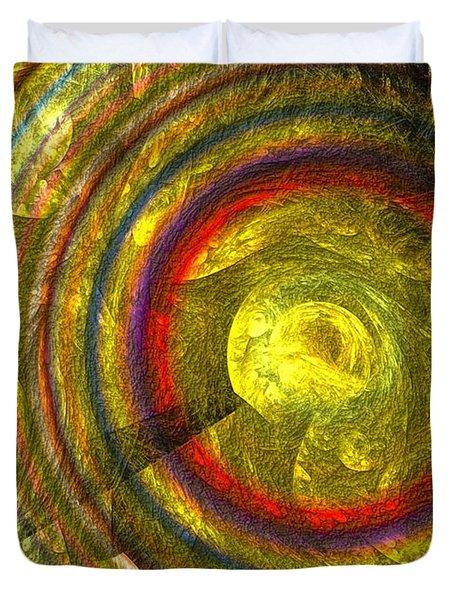 Apollo - Abstract Art Duvet Cover