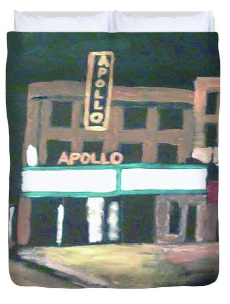 Apollo Theater New York City Duvet Cover