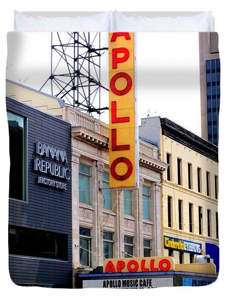 Apollo Theater Duvet Cover