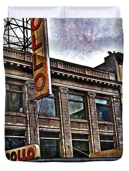 Apollo Theatre, Harlem Duvet Cover