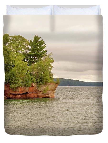 Apostle Islands Duvet Cover