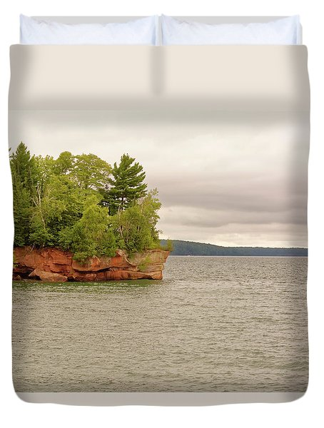 Apostle Islands Duvet Cover