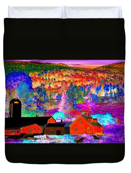 Appalachian Foliage Wonders Duvet Cover
