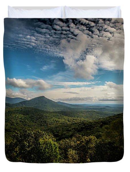 Appalachian Foothills Duvet Cover