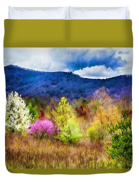 Appalachian Spring In The Holler Duvet Cover