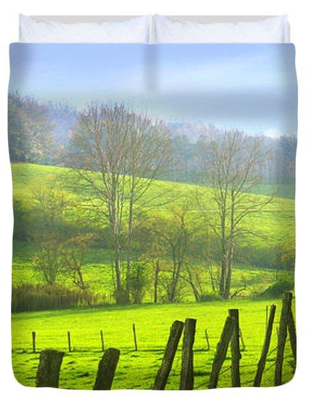 Appalachian Spring Morning Duvet Cover by Francesa Miller