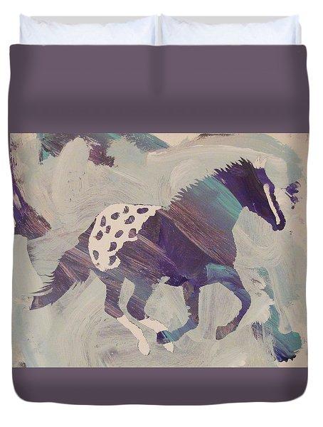 Appaloosa Dreams Duvet Cover