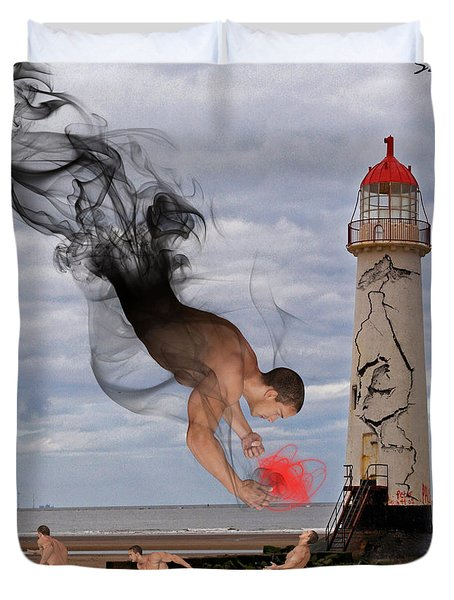 Apparition And Sighting Duvet Cover