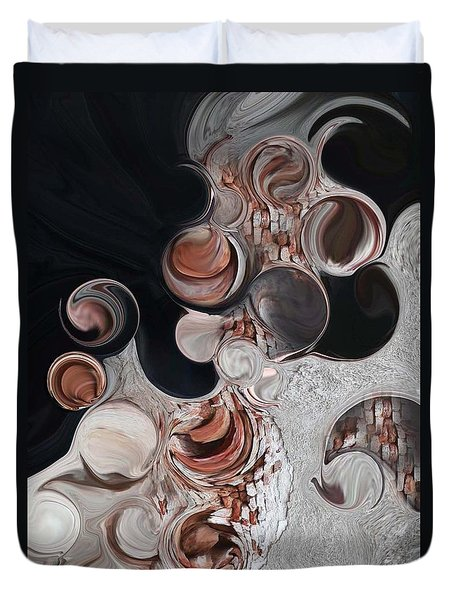 Apparition Of Degenerated Vision Duvet Cover by Carmen Fine Art