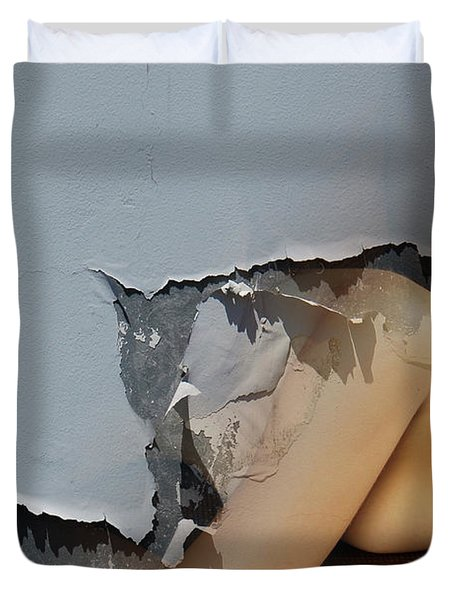 Appealing Nude Duvet Cover by Harry Spitz