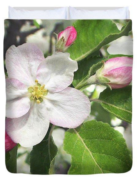 Apple Blossom Of My Eye Duvet Cover
