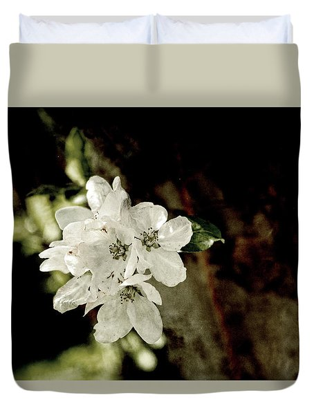 Apple Blossom Paper Duvet Cover