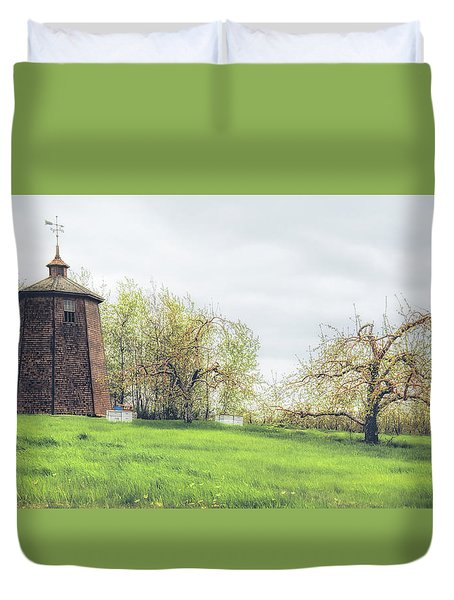 Apple Of My Orchard Duvet Cover