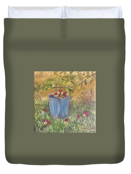 Apple Pickin'  Duvet Cover