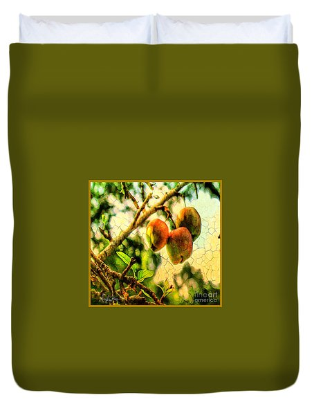 Apple  Season Duvet Cover