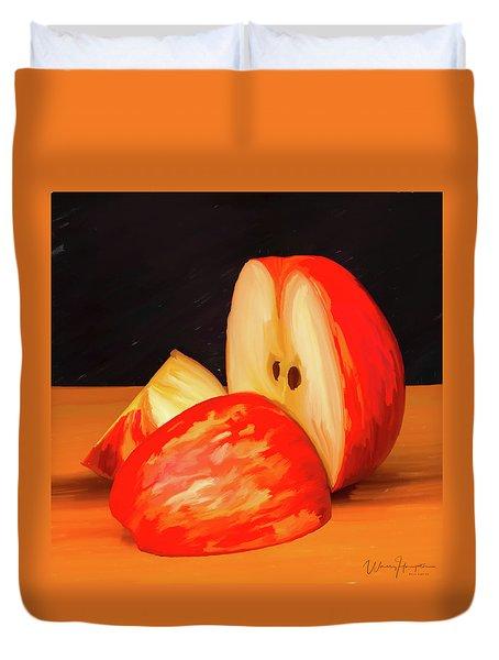Apple Study 01 Duvet Cover by Wally Hampton
