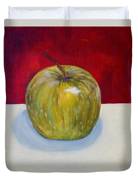 Apple Study Duvet Cover